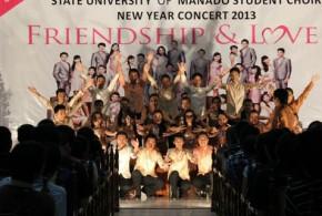 Konser 10 tahun kebersamaan PSM UNIMA bersama Sang Pelatih