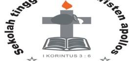 Logo Sekolah Tinggi Agama Kristen Apollos Manado