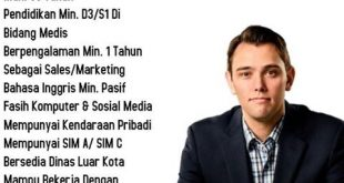 Loker Manado Posisi Sales Officer Alkes