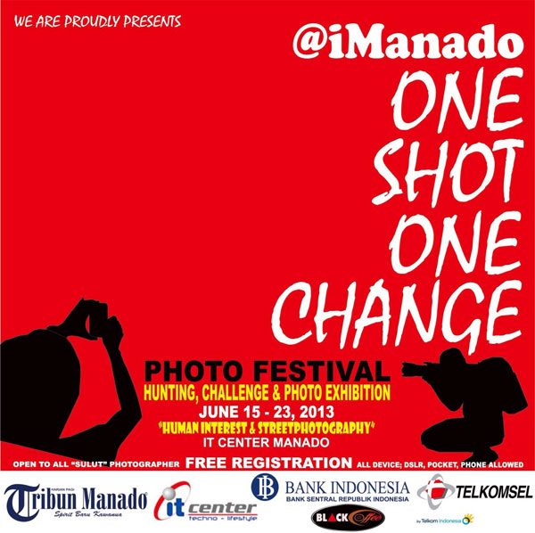 Lomba Foto imanado One Shot One Change Photo Festival