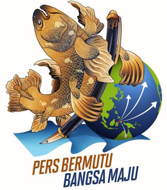 Maskot Hari Pers Nasional 2013