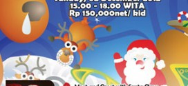 Meet Santa & Pincess Angel at Swiss Belhotel Maleosan Manado