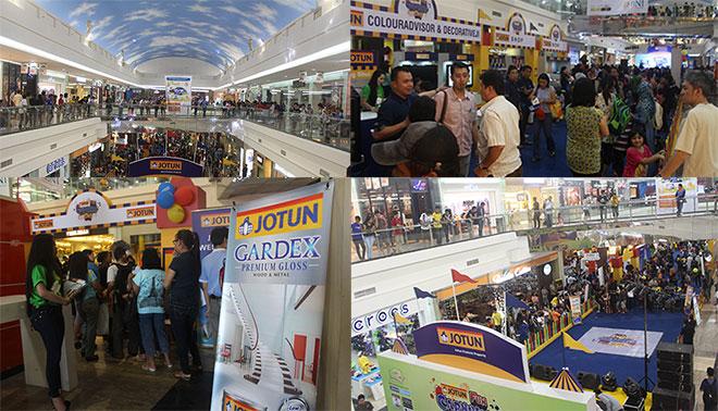Meriahnya Jotun Festival 2013 di Manado - Jotun Fun Carnival Day di Manado