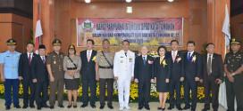 Rapat Paripurna Hut Kota Tomohon ke 12 tahun 2015