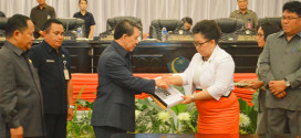 Paripurna Perubahan RPJMD Provinsi Sulawesi Utara Tahun 2014