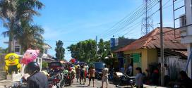 Suasana Pasar Amurang Menjelang Pengucapan Syukur