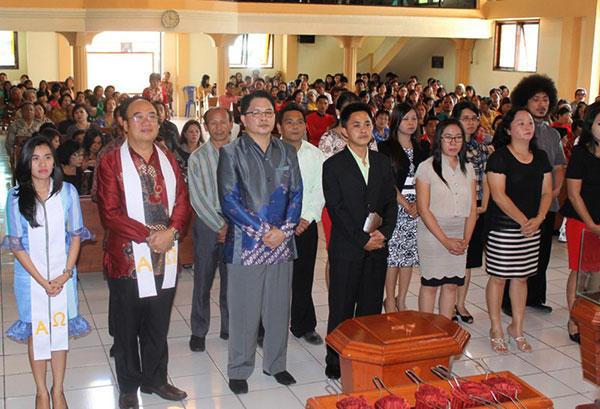 Pelantikan Panitia KONAS Keradioan Kristen se-Indonesia Timur | Foto: sinodegmim.org
