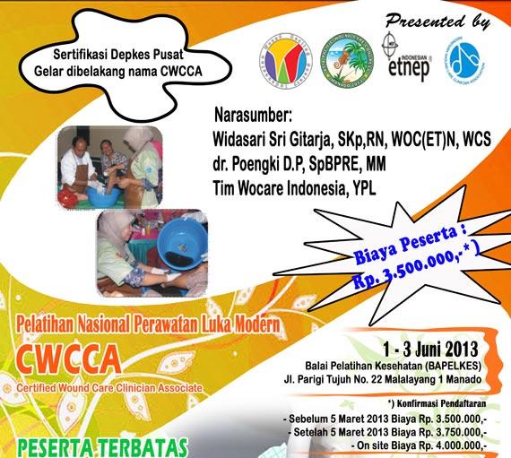 Pelatihan Perawatan Luka Modern  - CWCCA