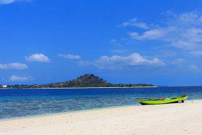 Pemandangan Pulau Gangga Dari Pulau Lihaga