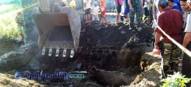 Penemuan Bom Aktif di Amurang