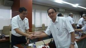 Pjb Walikota dengan Menhub