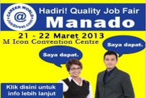 Quality Job Fair 2013 – Manado
