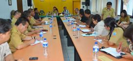 Rakor Penerimaan CPNS Tahun 2014 di BKD Prov Sulawesi Utara