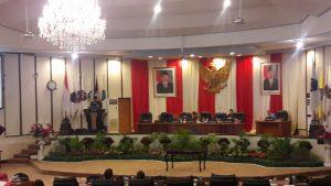 Rapat Paripurna Laporan Hasil Pembahasan Sekaligus Rekomendasi Pansus LKPJ Gubernur Sulut TA 2015