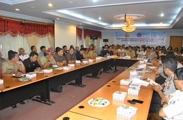 Rapat tim pembina samsat provinsi Sulawesi Utara