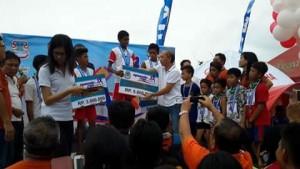 Run Manado 2016 Penyerahan Hadiah