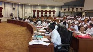 SKPD dilingkup Pemprov Sulut yang hadir