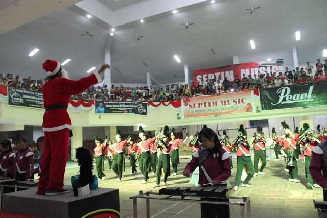 SMA Kristen I Tomohon, Juara I dan Juara Umum Divisi Marching Band