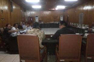 Hearing Komisi III DPRD Sulut Menyangkut Pembebasan Lahan Tol Manado Bitung
