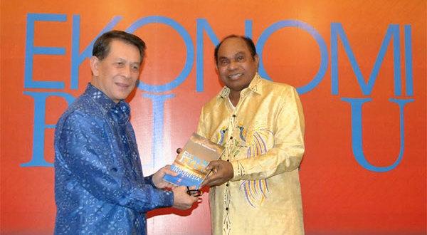Sarundajang Luncurkan Buku Berjudul Ekonomi Biru Masa Depan Indonesia