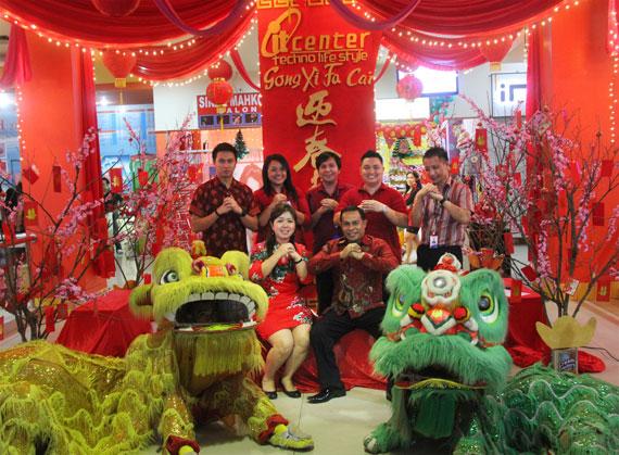 Angpao13 Juta Rupiah di itcenter Manado