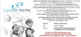 Seminar 4Life Transfer Factor