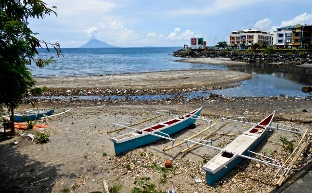 Sisi kota Manado yang kotor