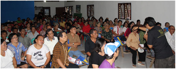 Sosialisasi Pajak Masuk Desa di Kuwil