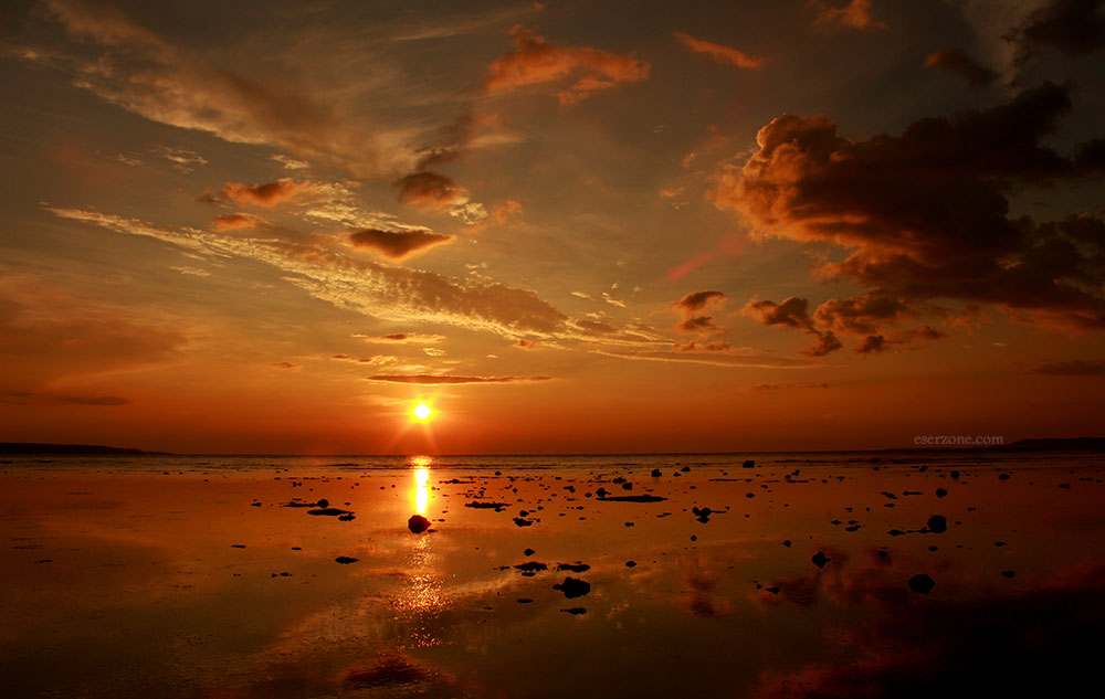 Sunset Teluk Amurang   Foto: bro eser