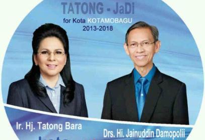 Tatong Bara dan Djainudin Damopolii