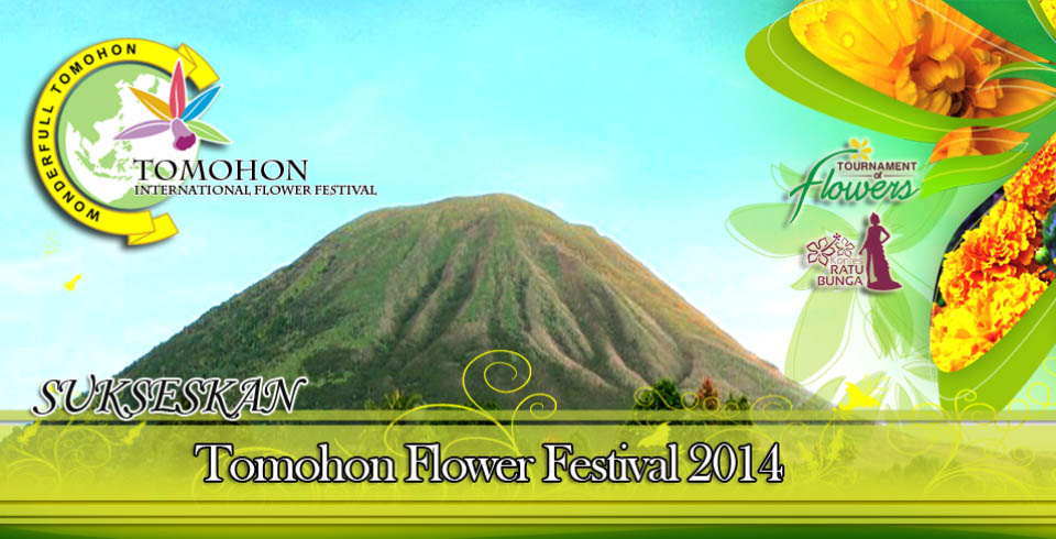 Tomohon International Flower Festival (TIFF) 2014