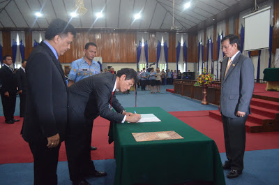 Pelantikan Pejabat Eselon II Pemkot Manado