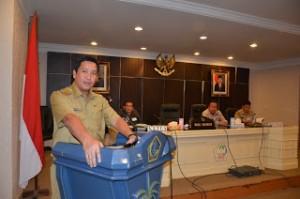 Wakil Gubernur Sulut Drs. Steven Kandouw memberikan Apresiasi Kepada KP-RI Kopergub, Selasa, 29 Maret 2016 di Ruang mapalus kantor Gubernur Sulut.