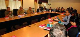 Wagub Saat Memimpin Rapat Pelaksanaan Iven Internasional World Coral Reef Conference - WCRC