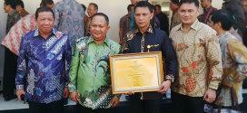 Wakil Gubernur Menerima Penghargaan Birokrasi Akuntabilitas Kinerja Pemerintah - AKIP
