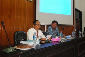 Wakil Gubernur Sulut Dr. Djouhari Kansil & Mecky M Onibala MSi