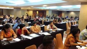 suasana  Sosialisasi Forum Komunikasi Sekretariat (FKS) DPRD Provinsi Sulawesi Utara dan Kabupaten/Kota  Se-Provinsi Sulawesi Utara