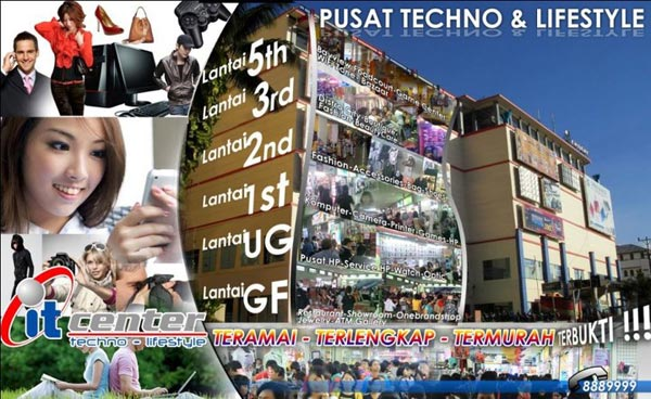 it center Manado - techno and lifestyle