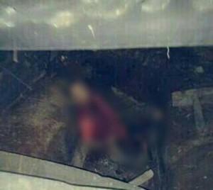 Korban berinisial YA ditemukan di dalam tempat kopra kelapa miliknya, Rabu (02/03/2016), sekitar pukul 16:20 WITA