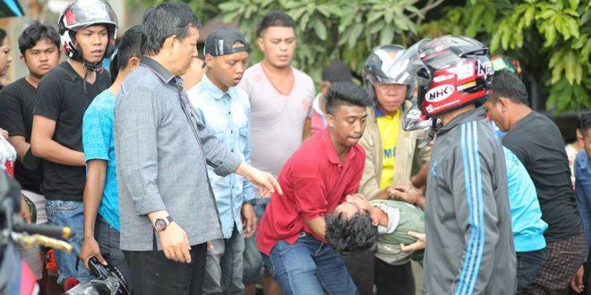 Walikota Manado Tolong Kostor Korban Lantas  Informasi Seputar