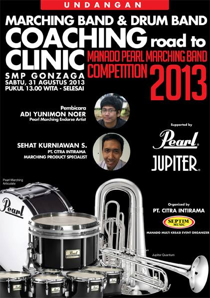 Coaching Clinic Manado Pearl Marching Band Competition