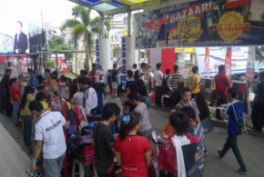 morning bazaar itCenter Manado