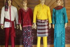 pakaian adat sulawesi utara