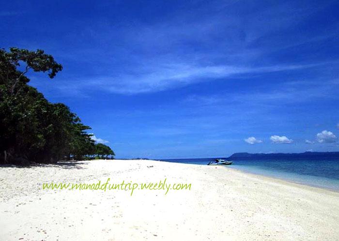 Pulau Lihaga Tempat Wisata Menarik Di Minahasa Utara