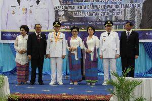 GSVL MOR resmi Pimpin Manado