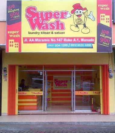 SuperWash Laundry Manado